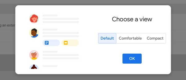 Gmail Default View
